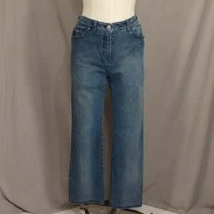 St John Stretch Denim Blue Jeans USA 6 Boot Cut 6